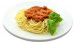 Spaghetti, obiad