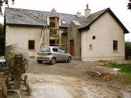 Dom w trakcie budowy