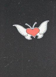 naklejka - motyl