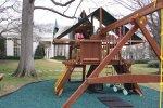 Ogrodowy plac zabaw